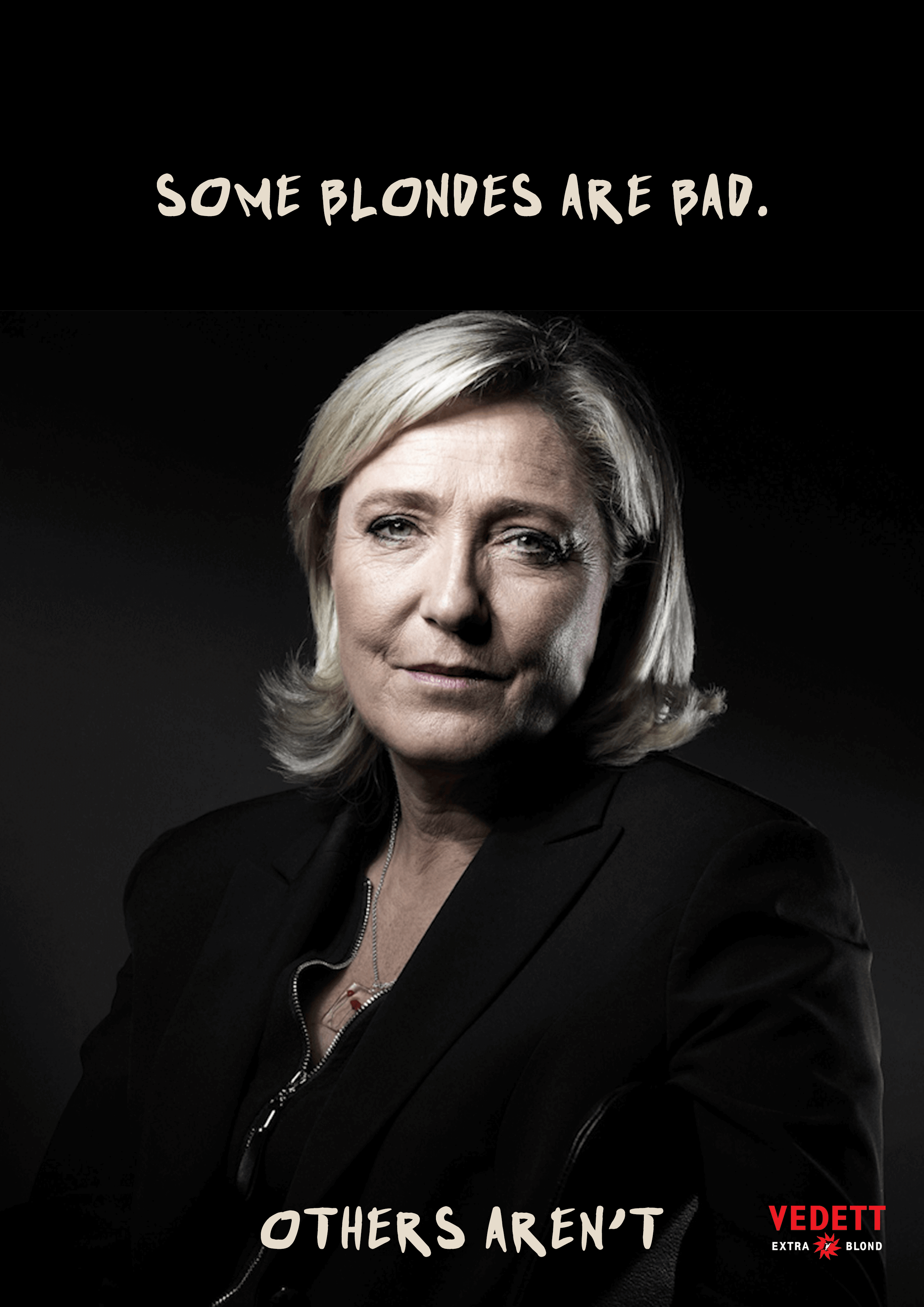 Blonde Marie Le Penn