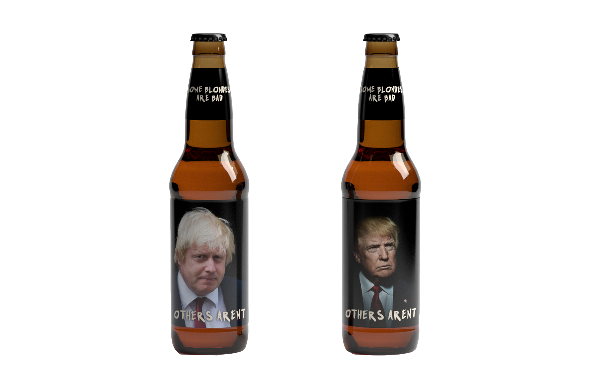 Blonde-bottles
